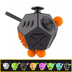 12 Seiten Fidget Würfel Anti-Angst und entlasten Stress Spielzeug für Kinder und Erwachsene-Sekunden-Generation (1 Stück Farbe zufällig)