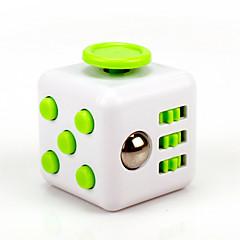 reliever Angst Fidget Würfel kubische Würfel zappeln Spielzeug für die Fokussierung / Spannungsarmglühen abs --Weißes&Grün