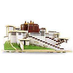 Jigsaw Puzzle 3D építőjátékok Építőkockák DIY játékok Fa Építő játékok