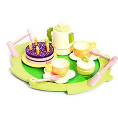 Toy Foods Kulatý Dřevo Dětské