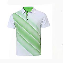 בגדי ריקוד גברים שרוולים קצרים גולף נושם תומך זיעה נוח גולף ספורט פנאי