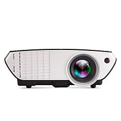 LCD WVGA (800x480) プロジェクター,LED 2000 携帯式 HD ミニ プロジェクター