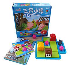 Puzzle Puzzle Stavební bloky DIY hračky Obdélníkový