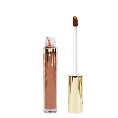 1pcs kosteuttava kosteus ei tyhmä valonsuojus huulipuna huulikiiltävä metalliväri