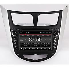Bordroad 7 quad core 1024 * 600 șiroid 6.0 mașină dvd player gps pentru solaris verna accent mașină pc headunit mașină radio video player