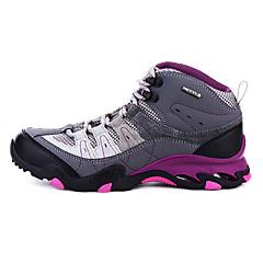 נעלי טיולי הרים נעלי יומיום נעלי הרים לנשים נגד החלקה Anti-Shake חסין בפני שחיקה נושם טבע קלאסי עור אמיתי גומי טיפוס צעידה ספורט פנאי