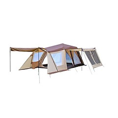 > 8 osoba Dvaput Automatski šator Dvije sobe šator za kampiranje 1500-2000 mmUltraviolet Resistant Otporno na kišu Vjetronepropusnost