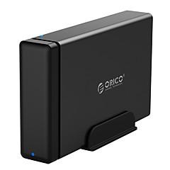Orico-ns100u3 3,5-tommers sata / usb3.0-støtte 10 tb harddisk svart