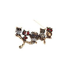 Dames Broches Uniek ontwerp Aanbiddelijk leuke Style Legering Sieraden Voor Feest Speciale gelegenheden Feest/Uitgaan