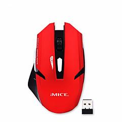 Zimoon butik professionel 2,4 g wirless mus gaming mus 1600dpi computer pc laptop mus til kontorarbejde gamer mus 2 farver