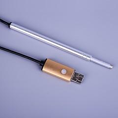 Οπτική αφαίρεση earwax usb μίνι κάμερα καθαρό φως αυτί σκάψιμο αυτί κουτάλι ιατρική βαθμίδα αυτί φροντίδα υγιεινή κιτ scooping έξω