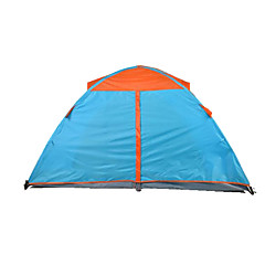 2人 テント 折り畳みテント キャンプテント キャンバス 防水 ウォーム 防雨 抗虫