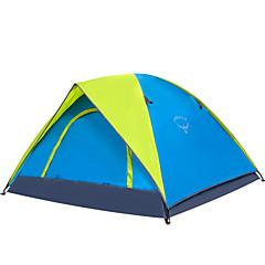 OSEAGLE 3-4人 テント テント 1つのルーム キャンプテント 1500-2000 mm ナイロン オックスフォード タフタ 防湿 通気性 防水 携帯用 防風 抗紫外線 防雨-狩猟 釣り ハイキング ビーチ キャンピング 旅行 屋外-