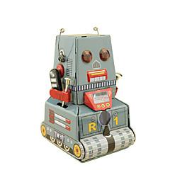 Aufziehbare Spielsachen Spielzeuge Quadratisch Panzer Maschine Roboter Retro keine Angaben Stücke