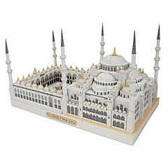 Puzzle 3D puzzle Stavební bloky DIY hračky Obdélníkový lepenkový papír