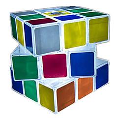 Rubik's Cube Cubo Macio de Velocidade Iluminação de LED Cubos Mágicos Plásticos