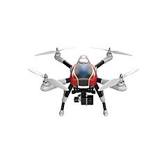 ドローン XK 6チャンネル 6軸 2.4G - ラジコン・クアッドコプター LED照明 ワンキーリターン 自動離陸 フェイルセーフ ヘッドレスモード 360°フリップフライト アップサイドダウン飛行 GPS測位 自動的に障害を避けます 電池残量不足通知
