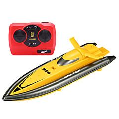 Speedbåt 环奇XMX Racerløp Radiostyrt Båt Børste Elektrisk 4 2.4G 2 Rød Grønn Rosa Gul