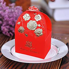 1 100 Favor Holder-Mások Kártyapapír Gyöngy-papír Ajándék dobozok Ajándékdobozok