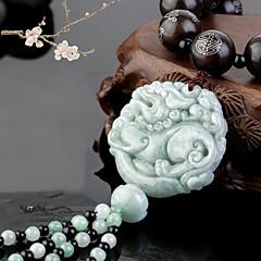 DIY bilvare pendants kinesisk stil smaragd jade modige tropper bil anheng&Ornamenter legering bomull dusker