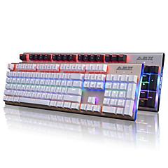Ajazz Firstblood 104 teclas teclado mecânico teclado preto Ak40s backlit teclado de jogos