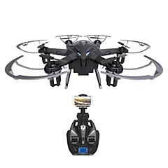 Drone I6W 6 Canais 6 Eixos Com Câmera HD de 720P Iluminação De LED Retorno Com 1 Botão Vôo Invertido 360° Flutuar Com Câmera Quadcóptero