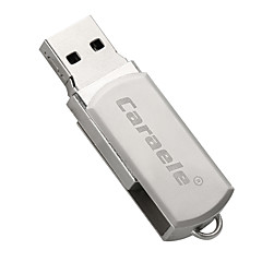 Caraele Metal Rotary Fat Man USB2.0 128GB Flash Drive U Disk Memory Stick