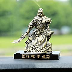 DIY automotive ornamenter bronse interiør dekorasjon hjem møbler guan gong parfyme set velstående velstående bil anheng&Ornamenter