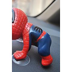 Diy ornamentos automotivos aranha xia bonecas mão para fazer pingente de carro&Ornamentos de plástico