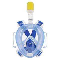 Máscaras de mergulho Anti-Nevoeiro Impermeável Snorkel Seco Máscaras Faciais 180 Graus Mergulho e Snorkeling WINMAX