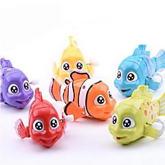 Brinquedos de Corda Peixes Plásticos Não Especificado todas as Idades