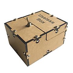 Lindert Stress Nutzlose Box Spielzeuge Quadratisch Lassen Sie mich alleine Maschine Dreht sich aus Unisex