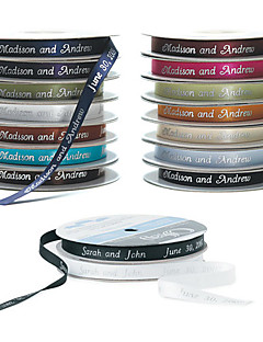 Personalized 5/8-Inch Double Faced Satin Ribbon