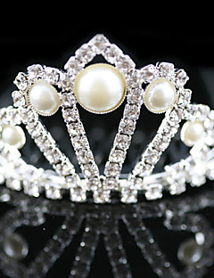Flower Girl's Alloy/Imitation Pearl Headpiece - Wedding/Special Occasion Tiaras