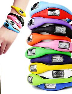 שעון ספורטיבי יוניסקס בסגנון מיני (7 בחבילה, צבעים אקראיים)