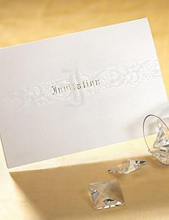 Unpersonalisierte Oberseite gefaltet Hochzeits-Einladungen Einladungskarten Künsterlischer Stil / Klassicher Stil / Moderner Stil