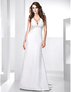 Formal Evening Dress - Apple / Hourglass / Inverted Triangle / Pear / Rectangle / Plus Size / Petite / Misses A-line / Princess V-neck