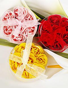 Bäder und Seife(Rot / Rosa / Gelb) -Nicht-personalisierte-Garten Thema