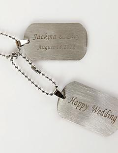 gepersonaliseerde vrouwen titanium ketting verjaardag / gift / party / dag