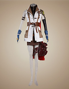 Ispirato da Final Fantasy Lightning Costumi Cosplay