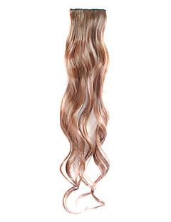 3 개 2 클립과 합성 곱슬 머리 확장에 클립 - 4 색상 가능