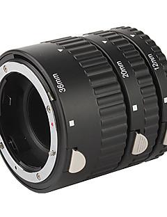 3-delt makro forlængerrør sæt (abs) til Canon D-SLR kamera