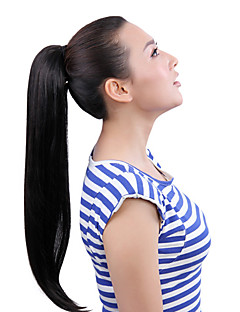 22 tums clip-in ponytails