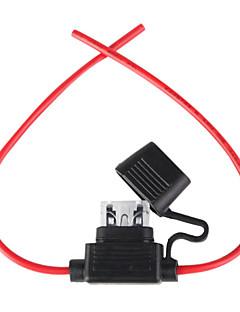 portafusibles con alambre, 12v 25a