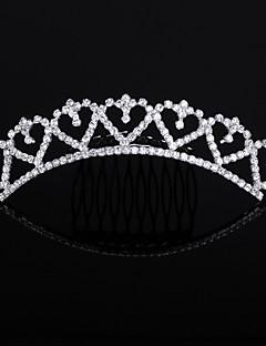 Licht Metaal Vrouwen Helm Bruiloft/Speciale gelegenheden/Outdoor Tiara's Bruiloft/Speciale gelegenheden/Outdoor