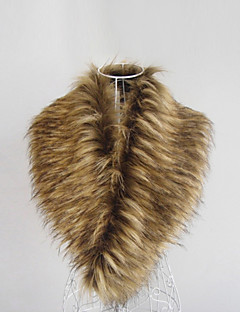 Gorgeous Faux Fur Special Occasion Scarf