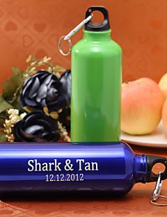 gepersonaliseerde 500ml aluminium sport fles (meer colores)