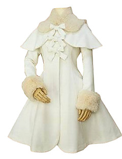 Long Sleeve Pink Velvet Classic Lolita Cappotto