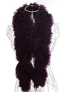 멋진 깃털 / 모피 특별한 날의 스카프 (자세한 색)