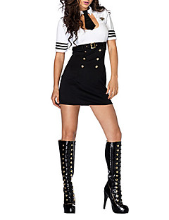 Sexy Woman Sultry Swat Offizier Kleid Police Halloween-Kostüm (2Stück)
